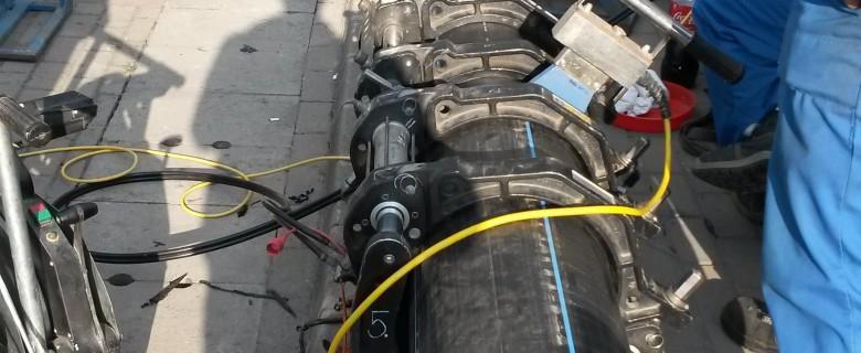 Dunapataj – DN-500-KPE csőhegesztés